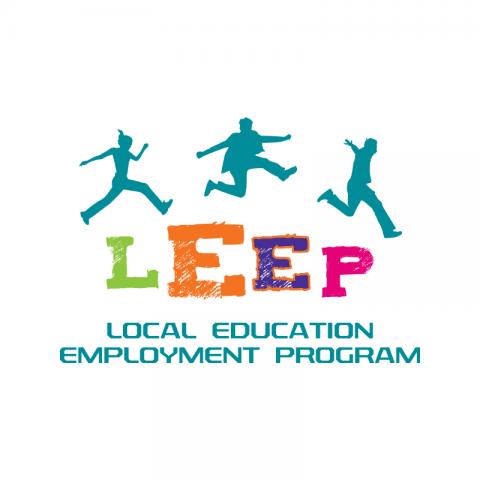 LEEP Education Employment Program Logo Design