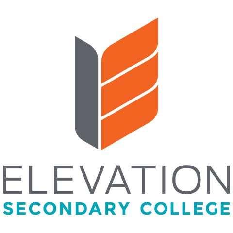 Elevation Secondary College School Logo Design