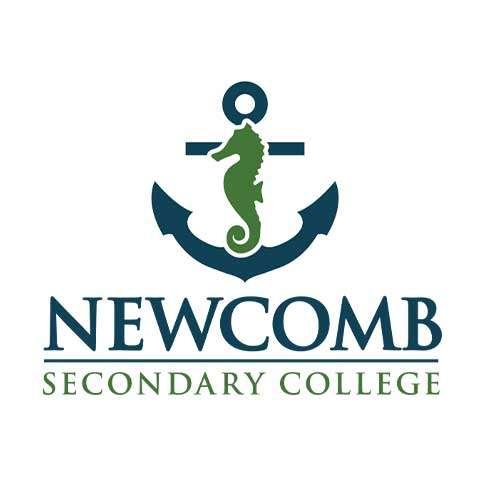 Newcomb Secondary College School Logo Design