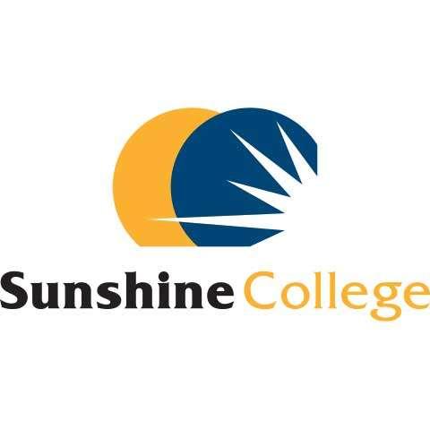 Sunshine College School Logo Design