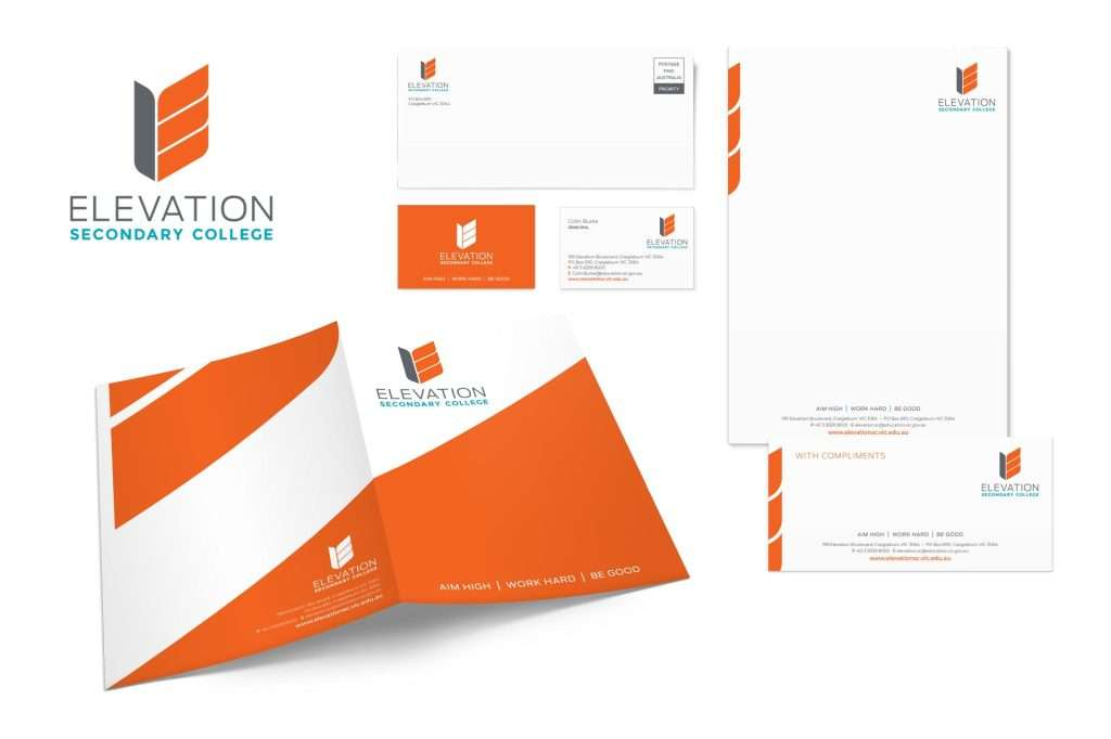 Elevation Secondary College Stationery