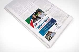 Mooroolbark College Open Day Newspaper Advertising