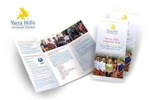 Yarra Hills Secondary College Prospectus International Marketing